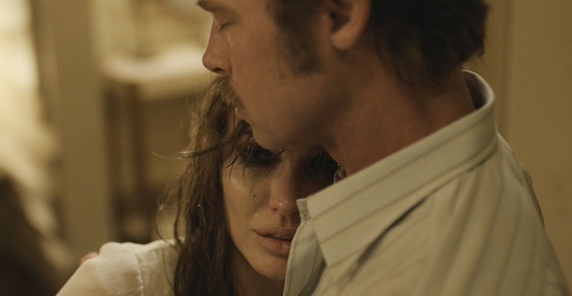 ANGELINA JOLIE and BRAD PITT star in Universal Pictures' By the Sea, her directorial follow-up to the studio's epic Unbroken. Credit: Universal Pictures