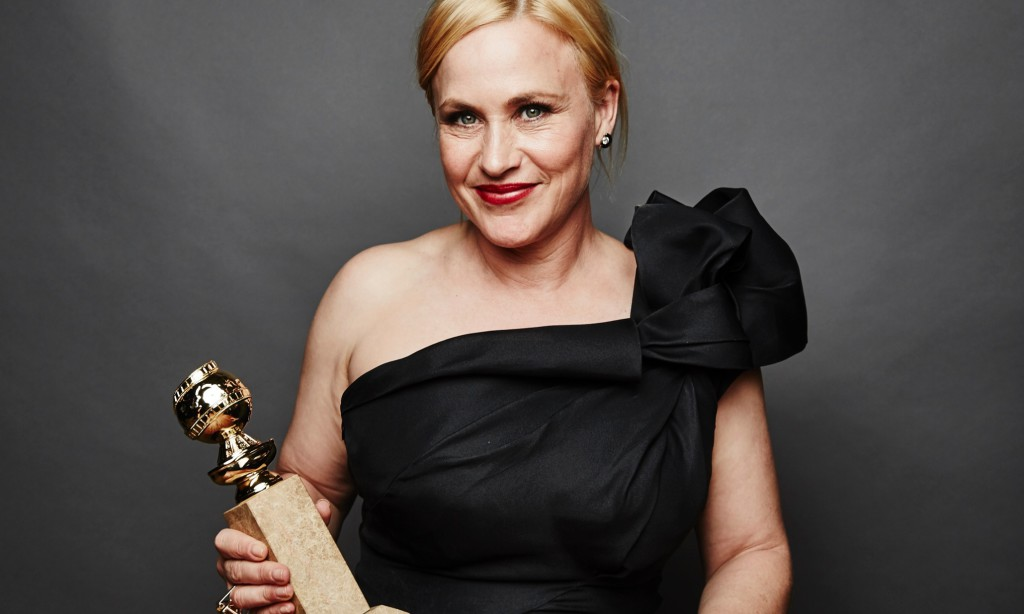 BEVERLY HILLS, CA - JANUARY 11: Patricia Arquette poses for a portrait for People.com during the 72nd Annual Golden Globe Awards on January 11, 2015 in Beverly Hills, California. (Photo by Maarten de Boer/Getty Images)