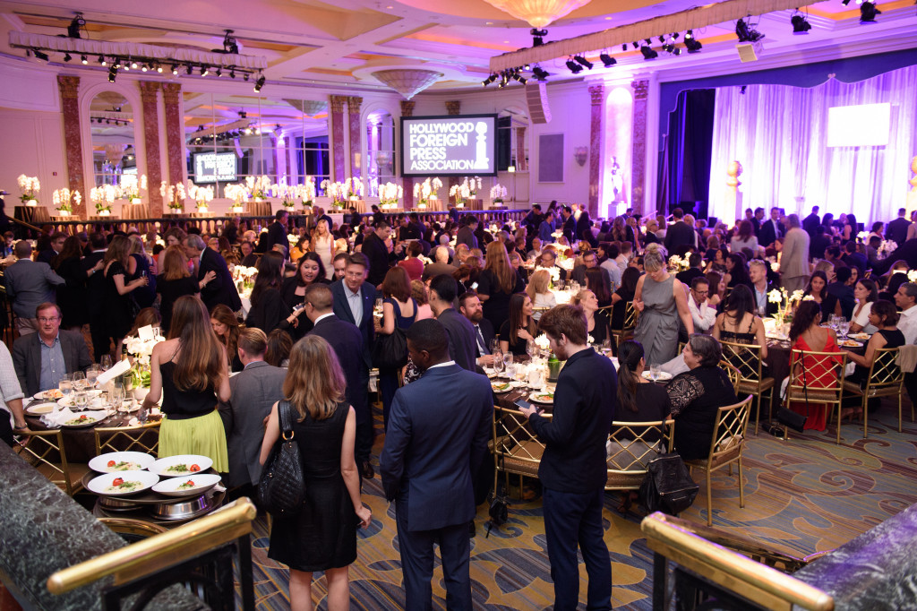 Beverly Hills, CA. August 4, 2016 Hollywood Foreign Press Association presents annual Grants Dinner Thursday night from the Beverly Wilshire Hotel.  The HFPA will present more than $2.4 million in donations to non-profit entertainment-related organizations and scholarship programs.