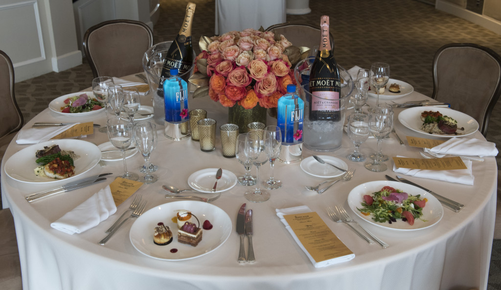 Menu Preview at the Beverly Hilton Hotel in Beverly Hills, CA. Photo:Magnus Sundholm for the HFPA