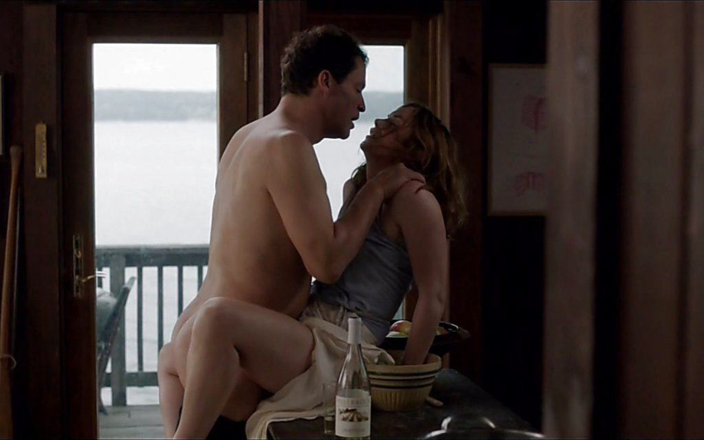 Dominic West nude the affair