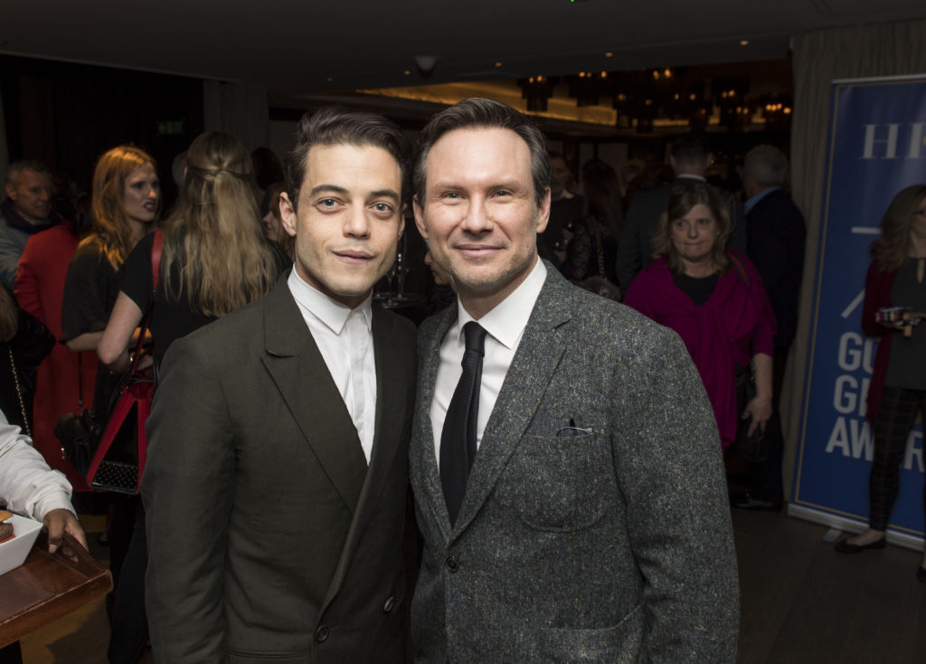Rami Malek and Christian Slater. Photo: Magnus Sundholm