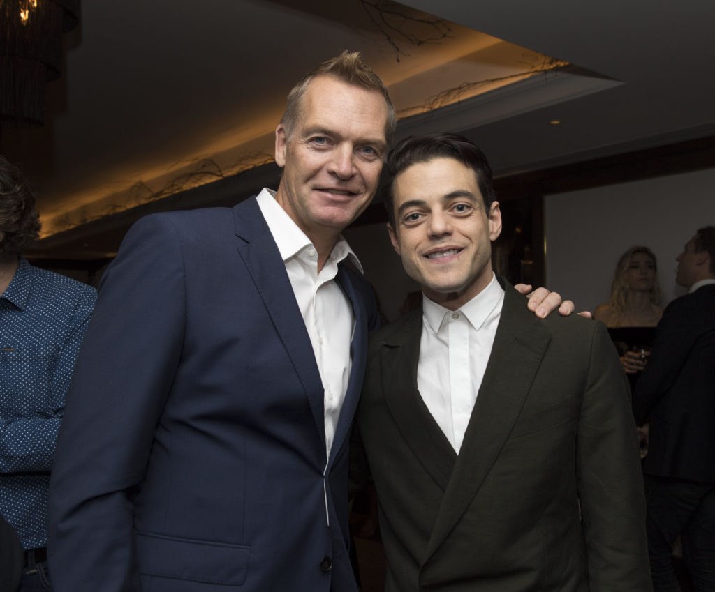 HFPA British Reception Celebration the 75th Anniversary of the G