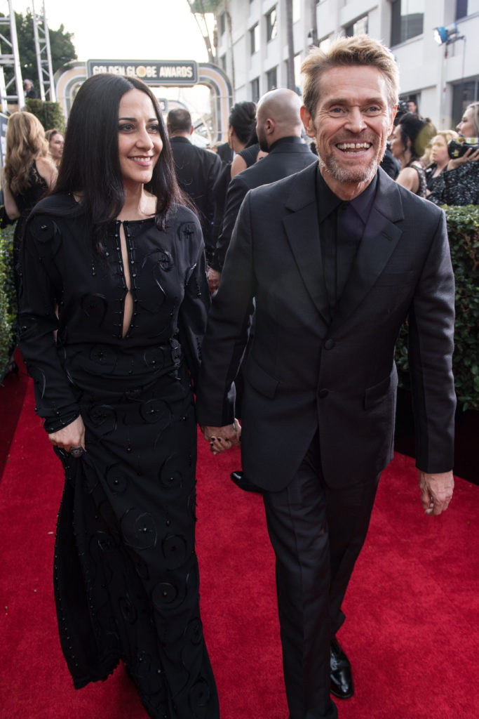 "Nominated for BEST PERFORMANCE BY AN ACTOR IN A SUPPORTING ROLE IN A MOTION PICTURE for his role in ""The Florida Project,"" actor Willem Dafoe attends the 75th Annual Golden Globes Awards at the Beverly Hilton in Beverly Hills, CA on Sunday, January 7, 2018."